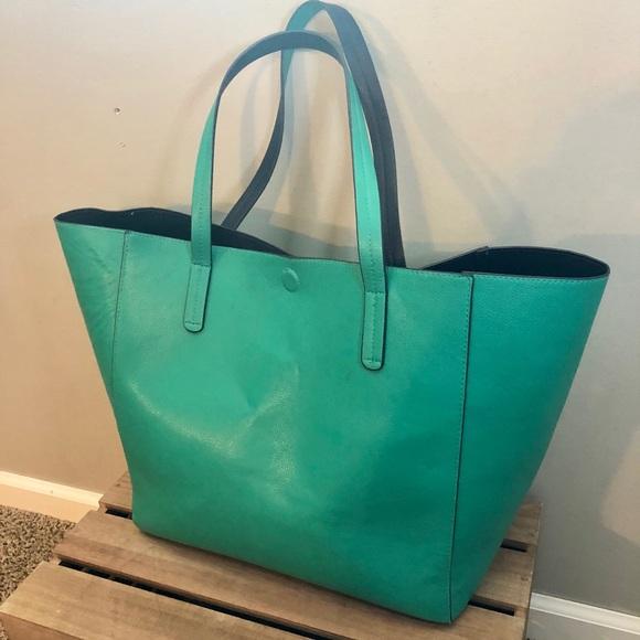 2e854f5ca6 Merona Reversible Tote Handbag. M 5b9c11fc035cf1facc6b915d
